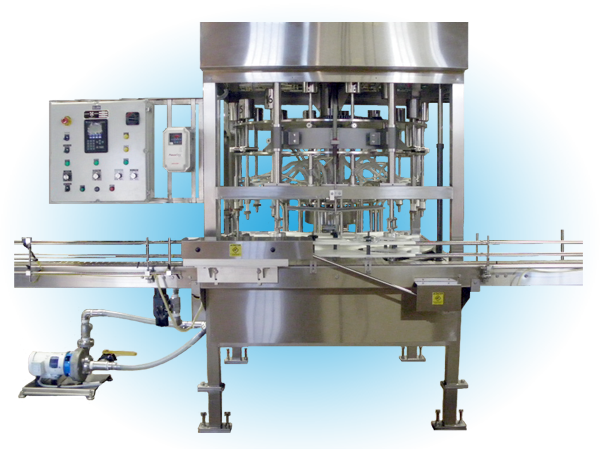 Automatic Rotary Liquid Filler