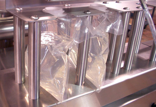 Positive Displacement Bag Filler Close-Up