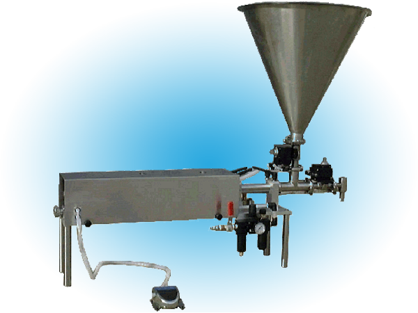 Portable Single Head Piston Filler