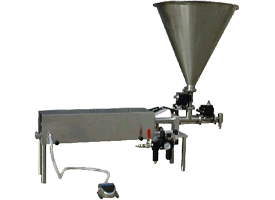 Portable Single Head Piston Filler<br />