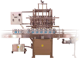 Semi-Automatic Filler with Power Conveyor<br />