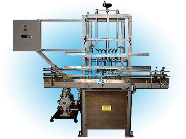 Semi-Automatic Filler with Slide Plate