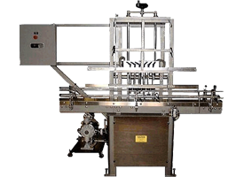 Semi-Automatic Filler with Slide Plate<br />